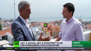 golden visa portugal rt news